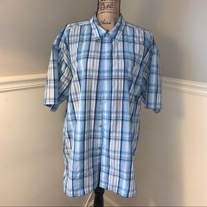 PATAGONIA Seersucker Short Sleeve Shirt XL